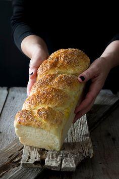 Receta Pan Brioche, Donuts, Food N, Sweet Bread, Gluten Free, Orange, Baking, Recipes, Cupcakes