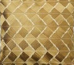 "New Pottery Barn PHULKARI EMBROIDERED CHEVRON PILLOW COVER Gold Neutral 18"" NWT…"