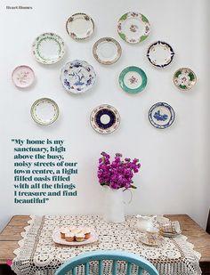 my home is my sanctuary, via thedecorista