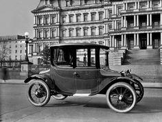 Detroit Electric Vehicle c1921 poster print by DigitalTraveler, $26.99