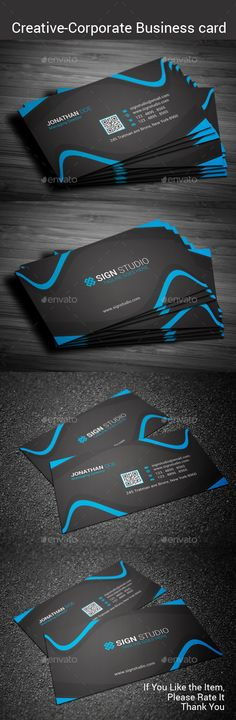 Creative business card vol 1 business cards business and creative adobe photoshop cs5 fully editable files 352 375225 with bleeds 300 dpi wajeb Images