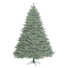 Vickerman 7.5 ft. Colorado Blue Spruce Pre-lit Christmas Tree - A164776