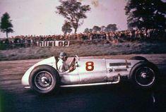 1938 Donington Grand Prix (Richard Seaman) Mercedes W163 Silver Arrow