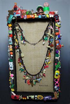 Marlene Brady: Altered Art Jewelry Display #4