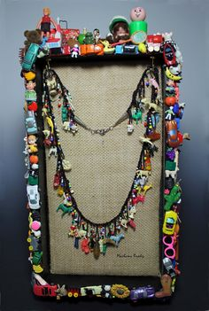 Marlene Brady: Altered Art Jewelry Display #4