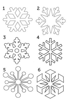 picture about Snowflake Printable called 8 Great Frozen area illustrations or photos within just 2015 Snowflake template