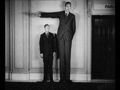 """Tallest Man in History - Robert Wadlow 8ft11"""""""
