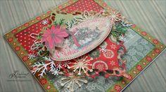 Готовим подарки-поздравления с Новым годом и Рождеством. Открытка.: На крыльях вдохновения Decorative Boxes, Templates, Postcards, Pictures, Home Decor, Ideas, Photos, Stencils, Template