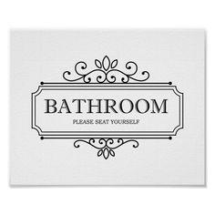 Funny Bathroom Decor, Bathroom Humor, Bathroom Ideas, Bathroom Inspiration, Bathroom Vintage, Restroom Decoration, Restroom Ideas, Bathroom Quotes, Bathroom Hacks