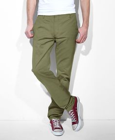 $68, Chino Pants by Levi's. Sold by Levi's. Click for more info: http://lookastic.com/men/shop_items/2000/redirect