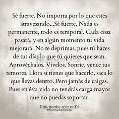 Life Quotes : Me enamore. - The Love Quotes Favorite Quotes, Best Quotes, Love Quotes, Pretty Quotes, Random Quotes, More Than Words, Some Words, Motivational Phrases, Inspirational Quotes