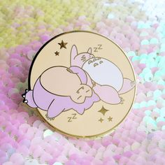 Snorlax Totoro Nap Time Pin Ghibli Pokemon