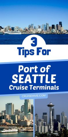 If you're heading out on a vacation out of Port of Seattle then here are 3 cruise tips for you. If your cruise ship is leaving from the Port of Seattle, here are three helpful tips for embarking and disembarking at these terminals. Best Cruise, Cruise Port, Cruise Travel, Cruise Vacation, Honeymoon Cruise, Vacation Ideas, Alaska Cruise Tips, Alaska Travel, Alaska Trip