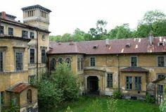 Krzeszowice pałac. Abandoned palce in Krzeszowice near Krakow.