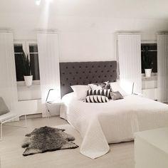Äntligen är sovrummet klart!!