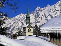 Les Houches, French Alps
