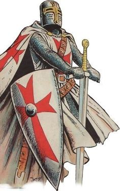#KnightsTemplar #InhocSignoVinces #DeusVult #WarriorsOfChrist Crusader Knight, Knight Armor, Medieval Knight, Medieval Fantasy, Templar Knight Tattoo, Vasco Wallpaper, Knights Templar Symbols, Les Runes, Knights Hospitaller