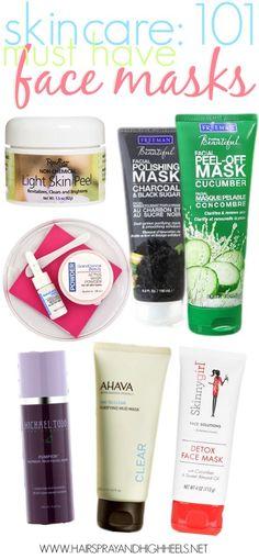 I LOVE face masks