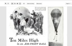"""THE FIRST MAN TO GO INTO THE STRATOSPHERE IN 1931 DESCRIBED IT AS : """" It seemed a flat disk with upturned edge"""" GOOGLE Auguste Piccard"""