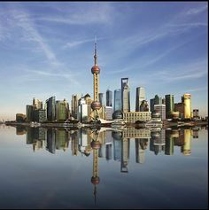 Shanghai, China with its unmistakable skyline Lose up to 40 lbs in 60-days at: http://TexasTrim.net I DID! PinterestBob