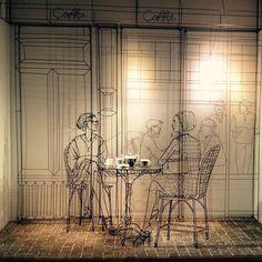 Hermès Paris windows display by Frank Plant
