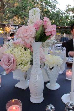 Centro de mesa rosa pastel en tendencia, te gusta??