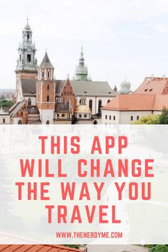 This One App Will Change The Way You Travel Forever! Learn more about GPS travel articles and how they are the best option for exploring a new city. Read more at www.thenerdyme.com