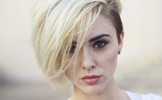 Alysha Nett blondes faces women wallpaper (#2219085) / Wallbase.cc
