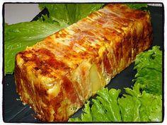 Recette de Cake de pommes de terre à la crème de camembert - Recettes Faciles