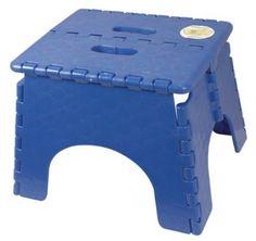 1 for each bathroom - B Plastics 101-6B-BLUE EZ Foldz Step Stool : Amazon.com : Automotive