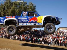 Like a boss Off Road Truck Racing, Robby Gordon, Off Road Bikes, Rally Raid, Sand Rail, Trophy Truck, Red Bull Racing, Race Day, Offroad