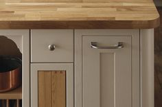 Solid Pewter D and Knob Handles
