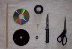 How to Build A Drop Spindle From Old CDs