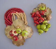 Винтажные украшения от Мириам Хаскелл (Miriam Huskell) - Ярмарка Мастеров - ручная работа, handmade