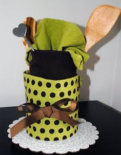 Tea towel cake!