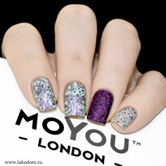 MoYou London Flower Power 07 Purple Haze