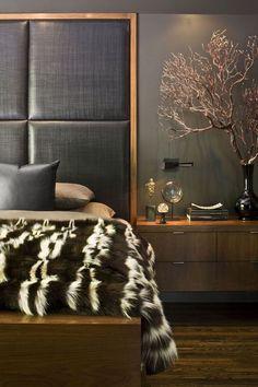 New home design modern bedroom headboards ideas Interior Design Portfolios, Interior Design Boards, Interior Rugs, Interior Modern, Contemporary Bedroom, Modern Bedroom, Contemporary Cottage, Kitchen Contemporary, Contemporary Apartment