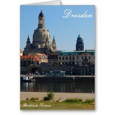 Die #Brühlsche #Terrasse in #Dresden #Grußkarten  2,95 € pro #Karte  von #Zazzle.de