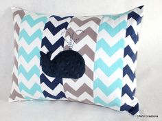 Hey, I found this really awesome Etsy listing at https://www.etsy.com/listing/195679021/whale-nursery-pillow-cover-aqua-gray