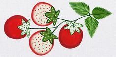 Passo a passo do mês: Tomates Patch Work