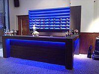 fotos van en informatie over bar verlichting met led strips