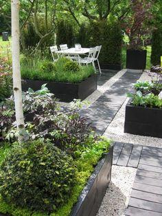 Urban Garden Design 7 Different Ways to Design a Simple Garden Walkway Gravel Garden, Garden Paths, Gravel Pathway, Pea Gravel Patio, Garden Edging, Diy Garden, Dream Garden, Herb Garden, Garden Cottage