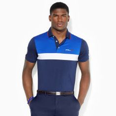 ... Ryder Cup Color-Blocked Polo - RLX Golf Custom-Fit - RalphLauren.com