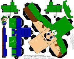 Papercraft: Mario/Angry Birds/Matt Groening[Para Imprimir] - Taringa!