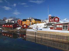 4 jours aux #Lofoten enneigées en mars #Svolvær #Norvege #Norway | #Svinøya #Hurtigruten