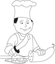 chef coloring page download free chef coloring page for kids best coloring pages