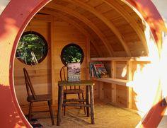 Best Kids Play House hobbit-holes-wooden-wonders-07