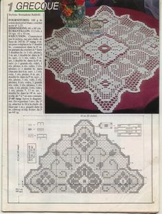 Szydełkomania: Obrusy kwadratowe ~ square Table centerpiece, or large doily (could also be made into an accent pillow, maybe)