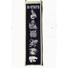 Kansas State Wildcats Heritage Wool Banner