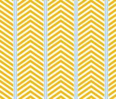 Modern Symmetry - Gold Blue fabric by natitys on Spoonflower - custom fabric